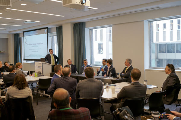 David Easthope moderated a panel discussion featuring the winners of this year's Model Asset Manager Awards.