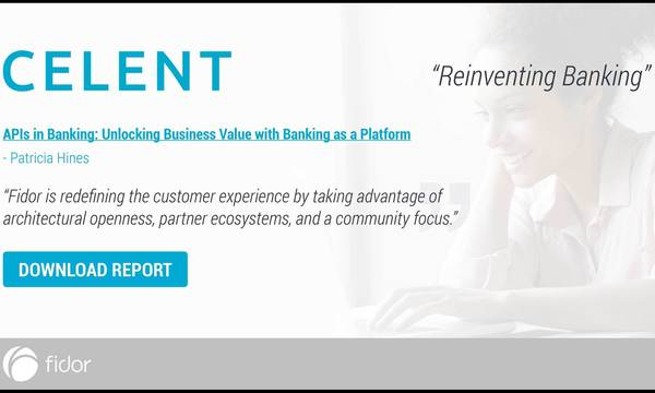 Celent highlights Fidor Group's innovative use of APIs in banking | Fidor Solutions | Celent