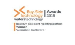 Best Buy-Side Client Reporting Platform 2015 | Vermilion Software | Celent