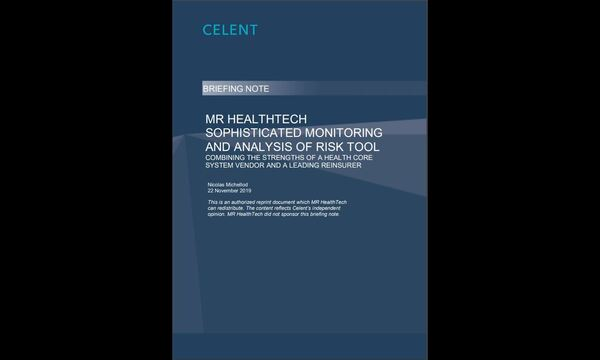 Celent's independent briefing note on SMAART | MR HealthTech | Celent