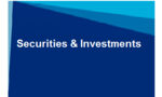 SECURITIES & INVESTMENTS NEWSLETTER