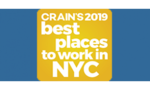 Numerix Named Crain's New York Business 2019 Best Places to Work in New York City