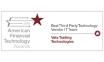 Vela wins at American Financial Technology Awards 2016
