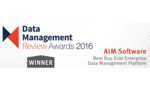AIM Software wins 'Best Buy-Side EDM Platform' Award at A-Team Group's DMR Awards 2016