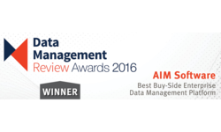 AIM Software wins 'Best Buy-Side EDM Platform' Award at A-Team Group's DMR Awards 2016 | AIM Software | Celent