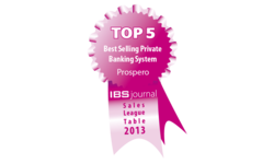 SAGE SA's Prospero in Top 5 Best Selling Private Banking Systems | Finartis | Celent