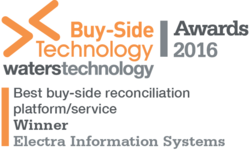 Electra Information Systems Wins Best Reconciliation Platform/Service in the Buy-side Technology Awards 2016 | Electra Information Systems | Celent