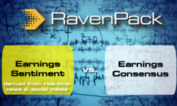 Earnings Sentiment Give Investors an Edge over Consensus | RavenPack | Celent