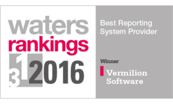 Client reporting specialist Vermilion voted #1 in Waters Rankings | Vermilion Software | Celent