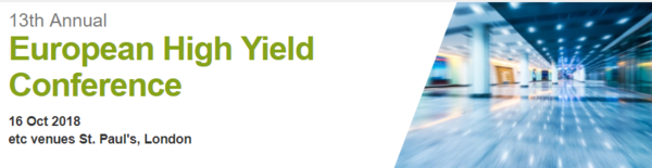 European High Yield Conference | Association for Financial Markets in Europe (AFME) | Celent