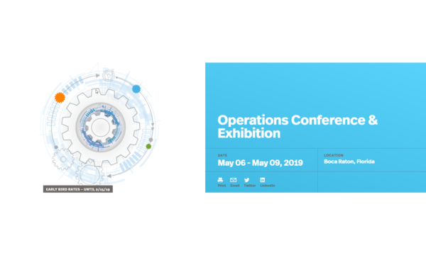 Operations Conference & Exhibition | Securities Industry and Financial Markets Association (SIFMA) | Celent