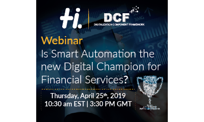 Webinar: Is Smart Automation the new Digital Champion for Financial Services? | Hexaware Technologies | Celent