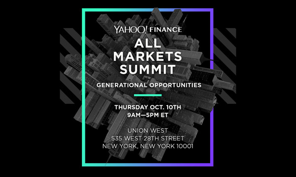 Yahoo Finance All Markets Summit: Generational Opportunities | The Event Studio | Celent