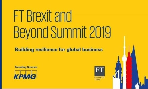 FT Brexit and Beyond Summit 2019 | FT | Celent