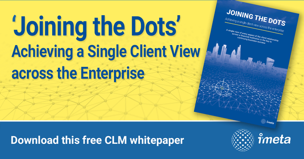 Joining the Dots -Client lifecycle management | iMeta Technologies | Celent