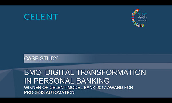 Celent Case Study - BMO: Digital Transformation in Personal Banking | Quadient | Celent
