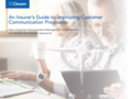 Insurer's Guide to Improving Customer Communication Processes