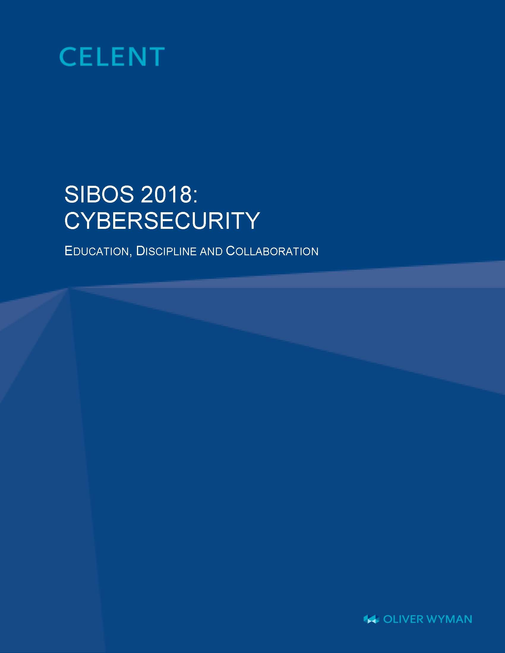 Sibos 2018 Cybersecurity