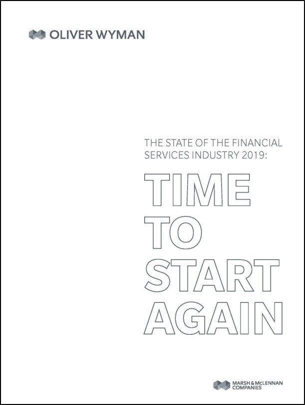 State of Financial services 2019 Cover